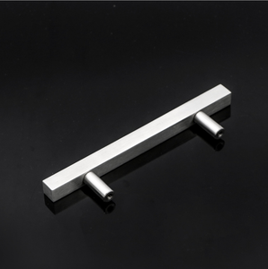 Elsafore Furniture cabinet Silver Square Bathroom handles